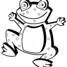 """Happy Frog Wall Decor #501 - """"ON SALE""""  Woodworking / Craft Pattern"""