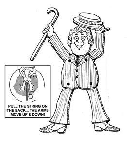 "Dancing Man - Jumpin' Jack - # 904 ""ON SALE""  Woodworking / Craft Pattern"