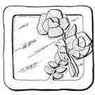 """Spring Time Mirror #503-mp  -  """"ON SALE"""" Woodworking / Craft Pattern"""