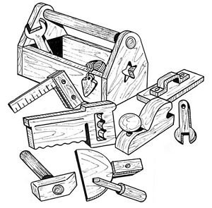 Handy Tool Box #905 - Woodworking / Craft Pattern