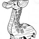 """Giraffe Pull or Play Toy   #107 -  """"ON SALE"""" Woodworking / Craft Pattern"""