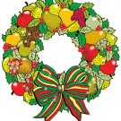 "Wreath of Fruit #626 - ""ON SALE"" Woodworking / Craft pattern"