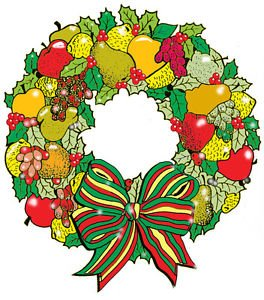 """Wreath of Fruit #626 - """"ON SALE"""" Woodworking / Craft pattern"""