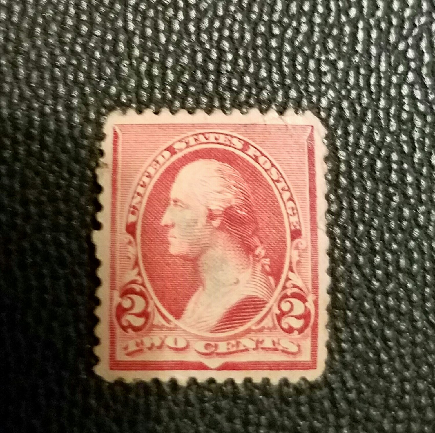 Washington 2¢ Stamp