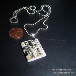 Mini 'Daily Prophet' Necklace - ecrater