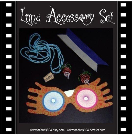 Radish Earrings, Cork Necklace, Spectrespecs Collection (eCrater)