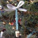 Authentic Cork Necklace Christmas Ornament-Bracelet (ecrater)