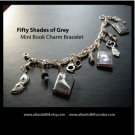 Fifty Shades of Grey Mini Book Charm Bracelet (ecrater)