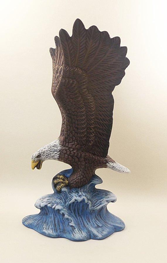 Ceramic Bald Eagle