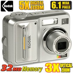 Kodak 6 Mega Pixel Digital Camera & Printer