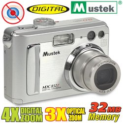 Mustek 8 Mega Pixel Digital Camera