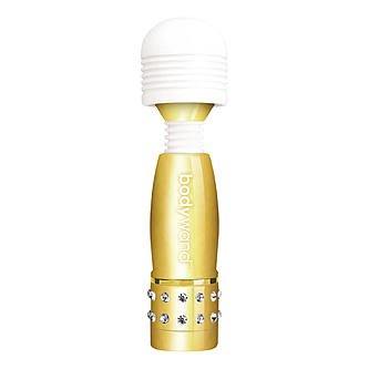 Bodywand Mini Massager Multi Speed Gold Edition Quiet Vibrator
