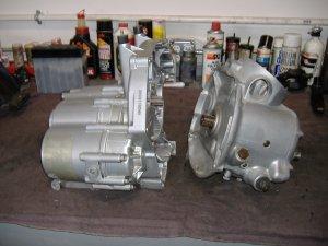 BMW gearbox rebuilding