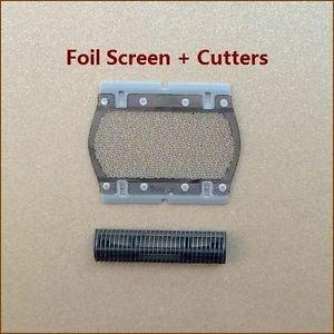 Shaver/Razor Replacement Foil&Cutters fits BRAUN 555 575 5604 5607 5608 P40 P50