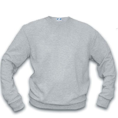 Basic Crew Sweatshirt/ ash heather - medium