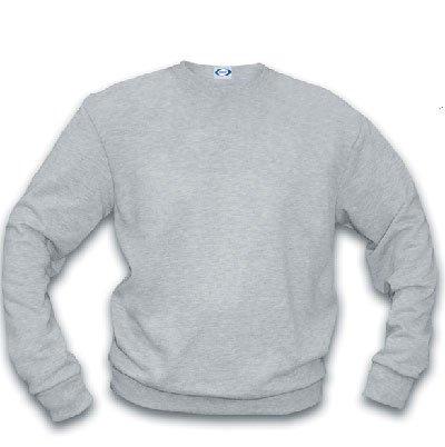 Basic Crew Sweatshirt/ ash heather - large
