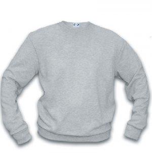 Basic Crew Sweatshirt/ ash heather - extra large