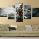 Assassin's Creed IV: Black Flag #03 5 pcs Unframed Canvas Print - Large Size