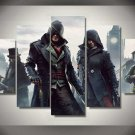 Assassin's Creed Syndicate #04 5 pcs Unframed Canvas Print - Small Size