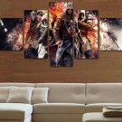 Assassin's Creed #08 5 pcs Unframed Canvas Print - Medium Size