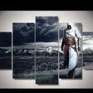 Assassin's Creed #09 5 pcs Unframed Canvas Print - Medium Size