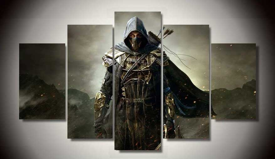 Assassin's Creed #12 5 pcs Unframed Canvas Print - Large Size