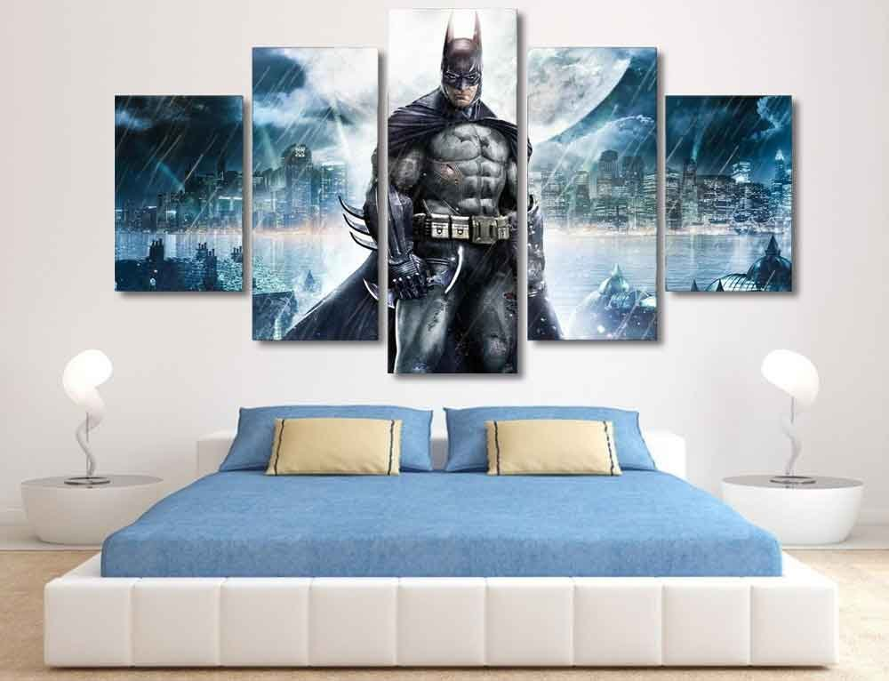 Batman Dark Knight #01 5 pcs Unframed Canvas Print - Small Size
