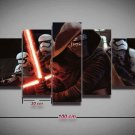 Kylo Ren Star Wars #05 5 pcs Unframed Canvas Print - Small Size