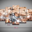 Star Wars Battlefront #08 5 pcs Unframed Canvas Print - Large Size