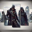 Assassin's Creed Syndicate #04 5 pcs Framed Canvas Print - Medium Size