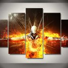 Assassin's Creed #05 5 pcs Framed Canvas Print - Medium Size