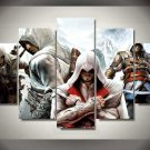 Assassin's Creed #07 5 pcs Framed Canvas Print - Large Size