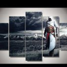Assassin's Creed #09 5 pcs Framed Canvas Print - Medium Size