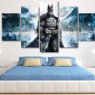 Batman Dark Knight #01 5 pcs Framed Canvas Print - Medium Size