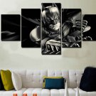 Batman Dark Knight #02 5 pcs Framed Canvas Print - Small Size