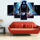 Darth Vader Star Wars #01 5 pcs Framed Canvas Print - Large Size