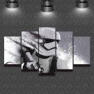 Star Wars Stormtrooper #03 5 pcs Framed Canvas Print - Large Size