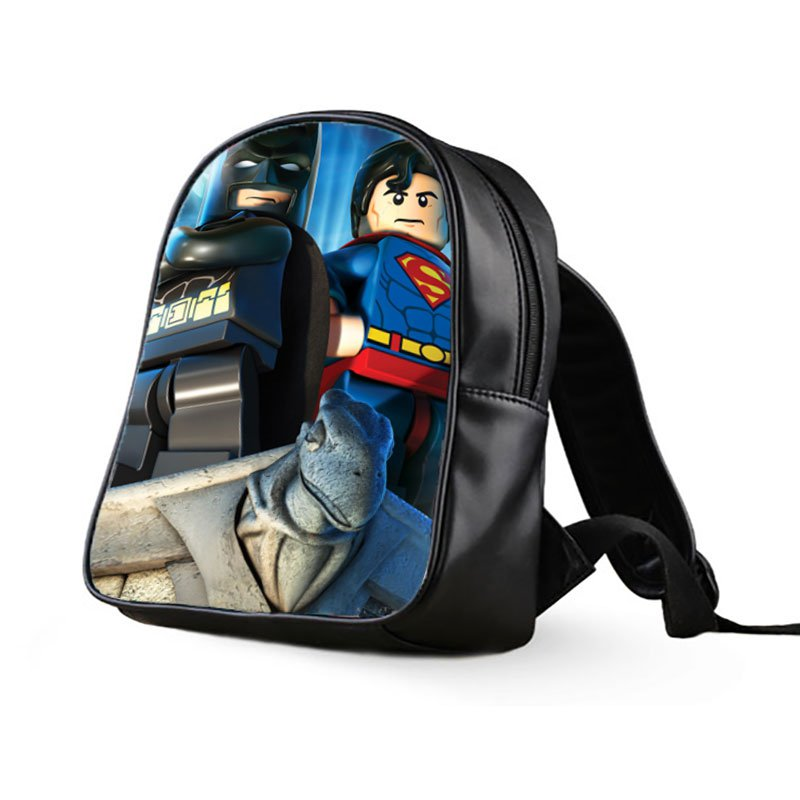 #01 Lego Batman Kids Multi-Pocket School Bag Backpack