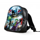 #02 Lego Batman Kids Multi-Pocket School Bag Backpack