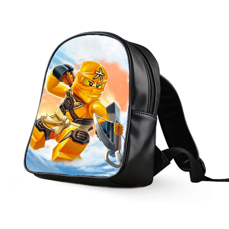 #02 Skylor Lego Ninjago Kids Multi-Pocket School Bag Backpack