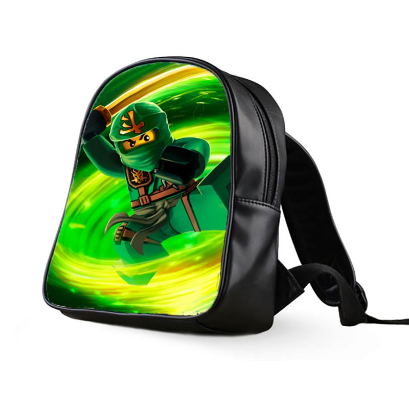 #03 Lloyd Lego Ninjago Kids Multi-Pocket School Bag Backpack