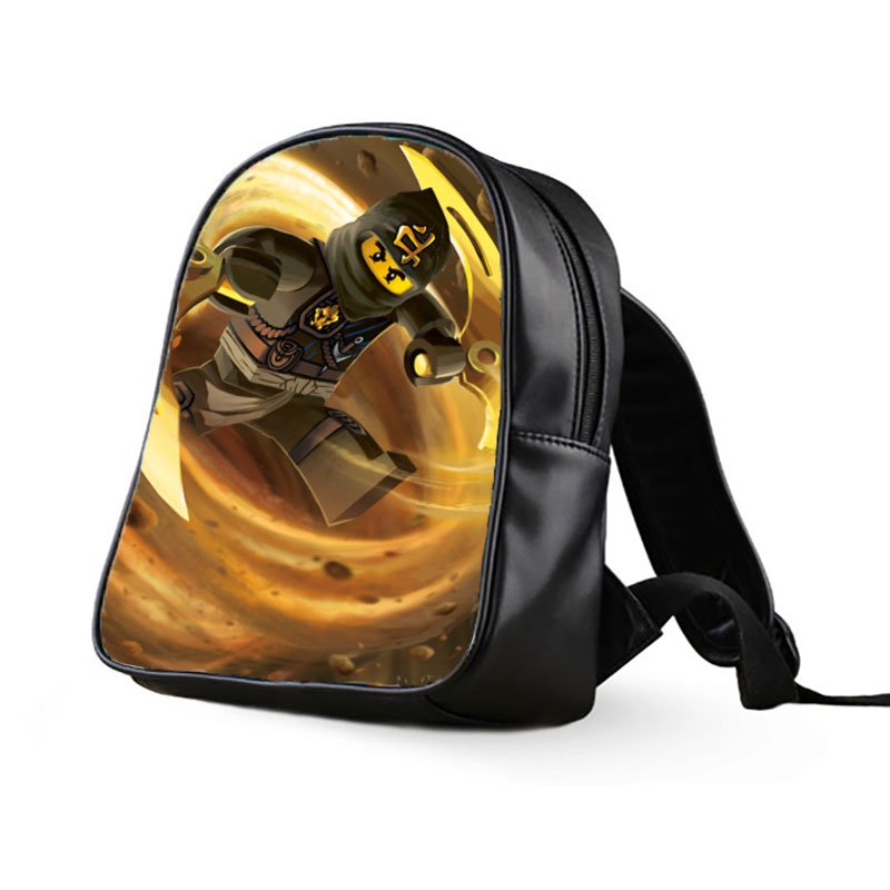 #06 Cole Lego Ninjago Kids Multi-Pocket School Bag Backpack