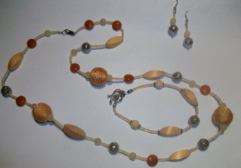 Stylish Rope Necklace Set