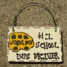 School Bus Driver Gifts no 1 3200SBD School Bus Driver Wood