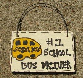School Bus Driver Gifts no 1 3200SBD School Bus Driver Wood