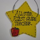 7005 Yellow Star - All Star First Grade Teacher