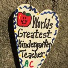 Teacher Gift 3011 - Worlds Greatest Kindergarten Teacher