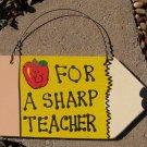 Teacher Gifts Wood Pencil 25 For A Sharp A Teacher