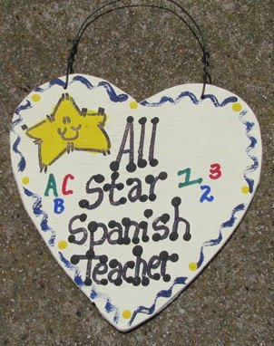 Teacher Gifts 5036 All Star Spanish Teacher