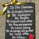 Teacher Gifts 2709CR - In This Classroom Wood Sign